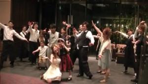 フラッシュモブ 結婚式