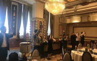 結婚式披露宴でのサプライズフラッシュモブ(つくばホテル東雲)のサムネイル