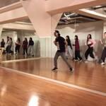 スタジオワークル新宿にてフラッシュモブお客様レッスン