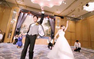 新郎新婦とご友人からゲストへのフラッシュモブ!!(ホテルニューグランド横浜)のサムネイル